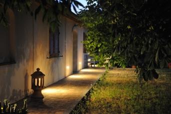 Aia della Colonna im Abendlicht