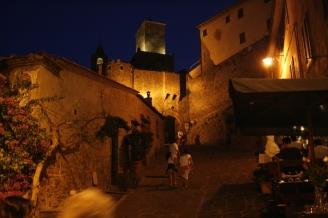 Castiglione della Pescaia nachts