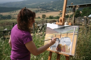 Foto: Landschaftsmalen