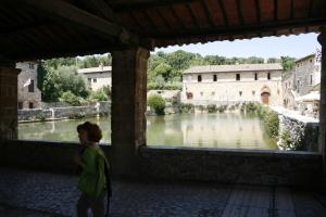 Malkurs: Ausflug nach Bagni Vignoni