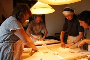 Kochen in Aia della Colonna