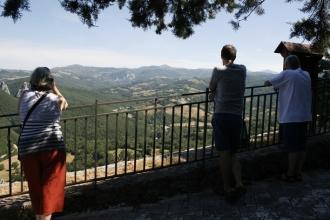 Malkurs: Weite Landschaft am Fuße des Monte Amiata