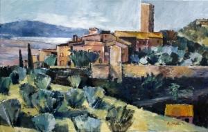 Ölbild: Pereta, Magliano