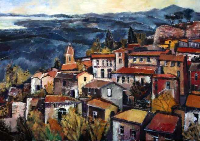 Ölbild: Stribugliano