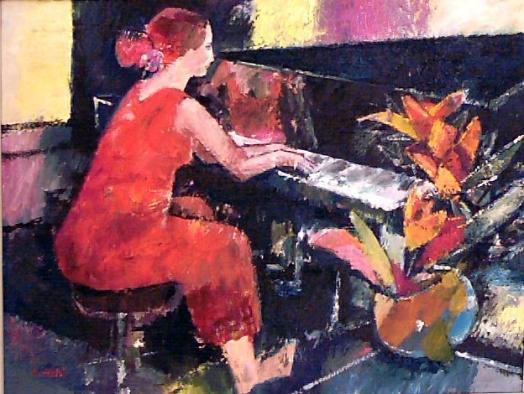 Pianistin (Dulce Pontes), Privatbesitz