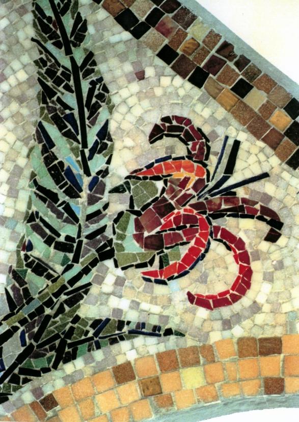 Foto: Mosaik Treppenhaus