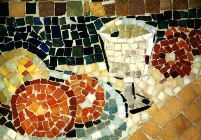 Foto: Mosaikdekoration
