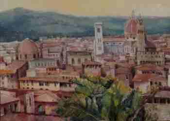 Foto Ölgemälde Florenz